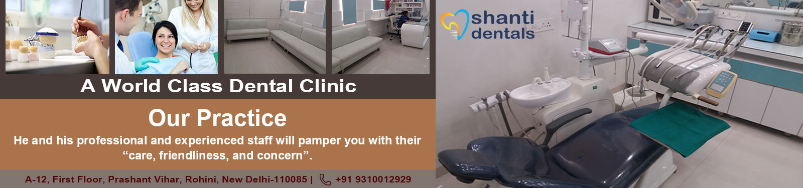 Our Practice Treatment in Rohini Delhi by Shanti Dentals